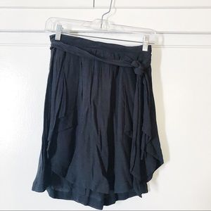 Urban Outfitters Mini Skirt with Tie